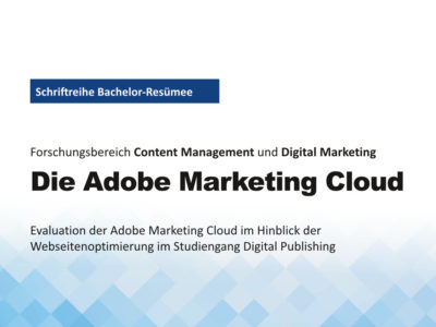 Titelbild Die Adobe Marketing Cloud