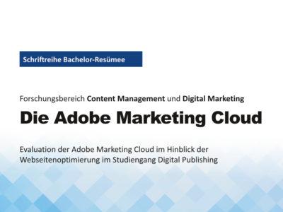Titelbild Die Adobe Marketing Cloud