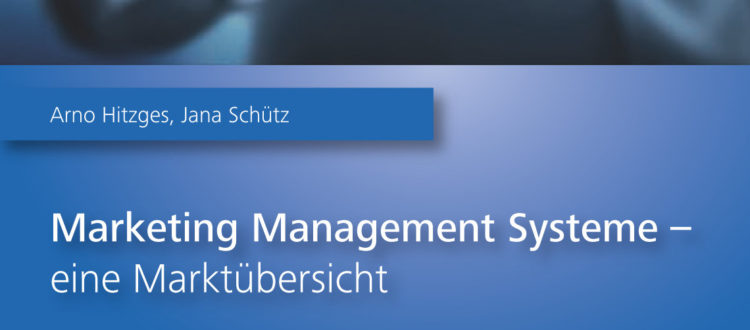 Titelbild Marketing Management Systeme - eine Marktübersicht