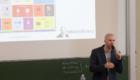 Referent Felix Beilharz beim DMF 2018