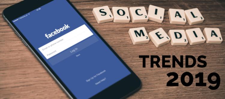Titelbild Social Media Trends 2019