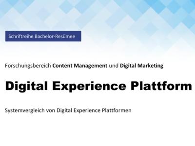 Titelbild Paper Digital Experience Plattform