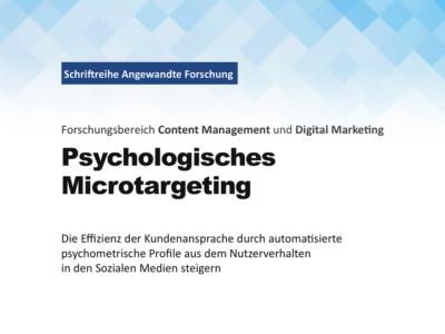 Titelbild Paper Psychologisches Microtargeting