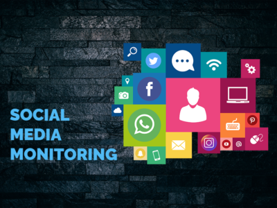 Titelbild Social Media Monitoring
